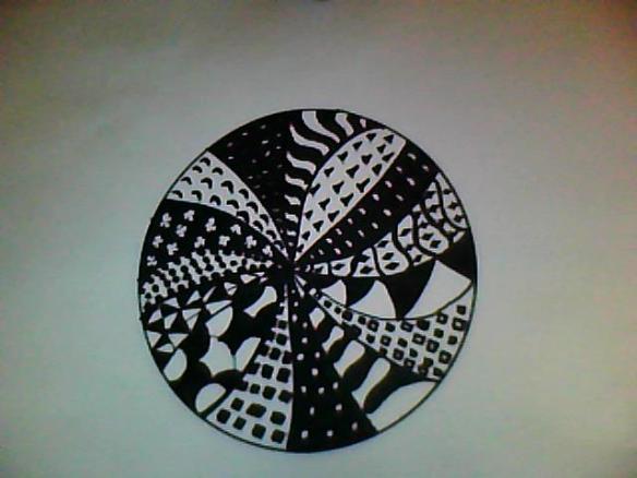 Round Zentangle
