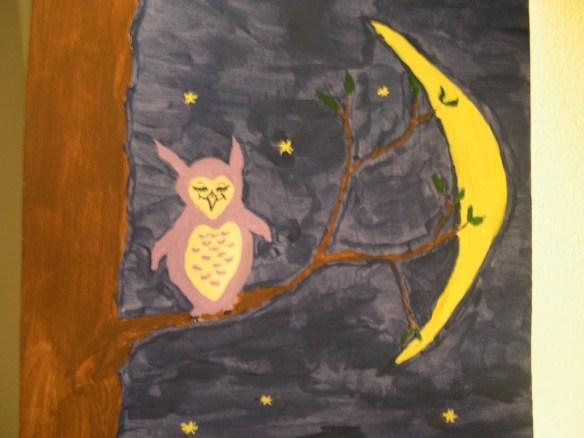 Owl & Moon 003