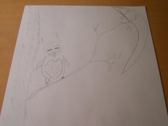 Owl & Sugar Skull 2 003