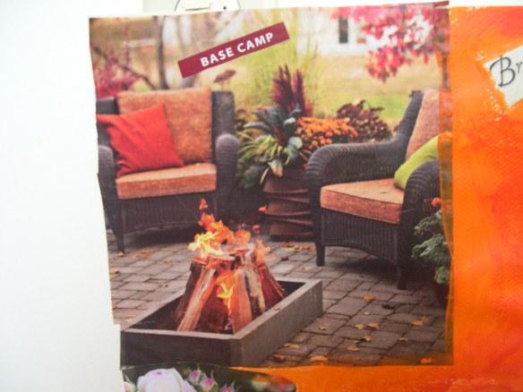 Comfort, fire, nature