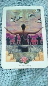 20 Awakening Gaian tarot