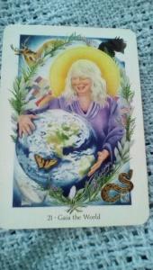 21 Gaia the World Gaian tarot