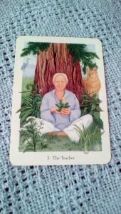 Gaian Tarot 5 The Teacher