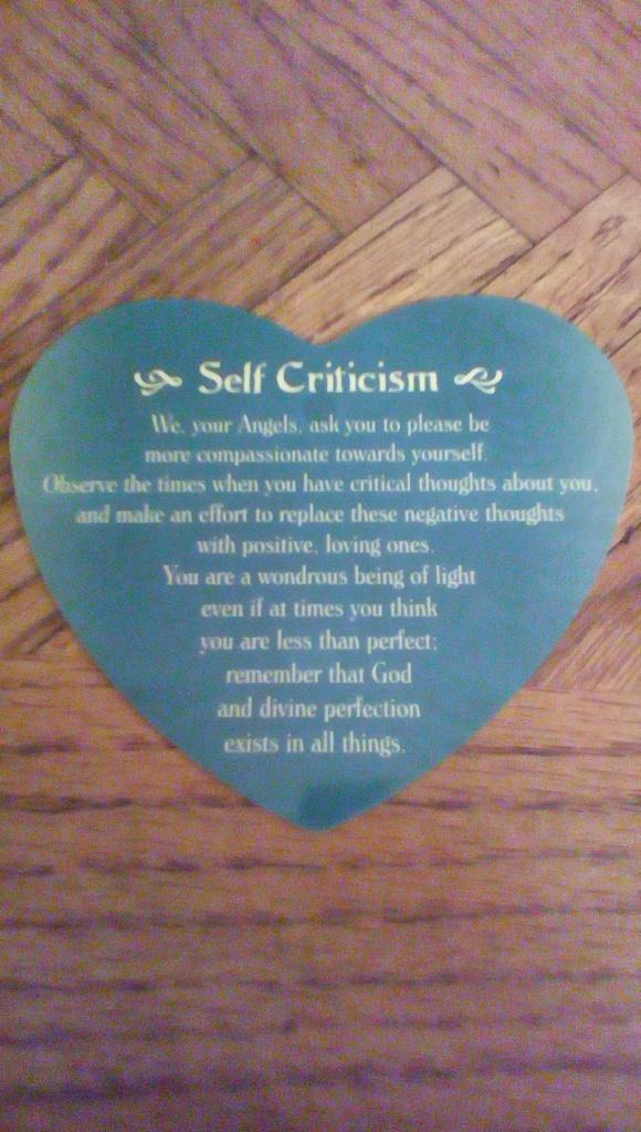 Self Criticism