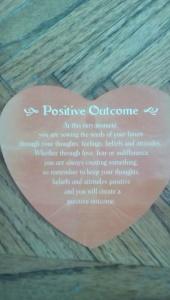 Positive Outcome